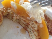 Peaches n Cream Pancakes