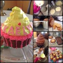 Kae'e Homemade Cupcake Cake!